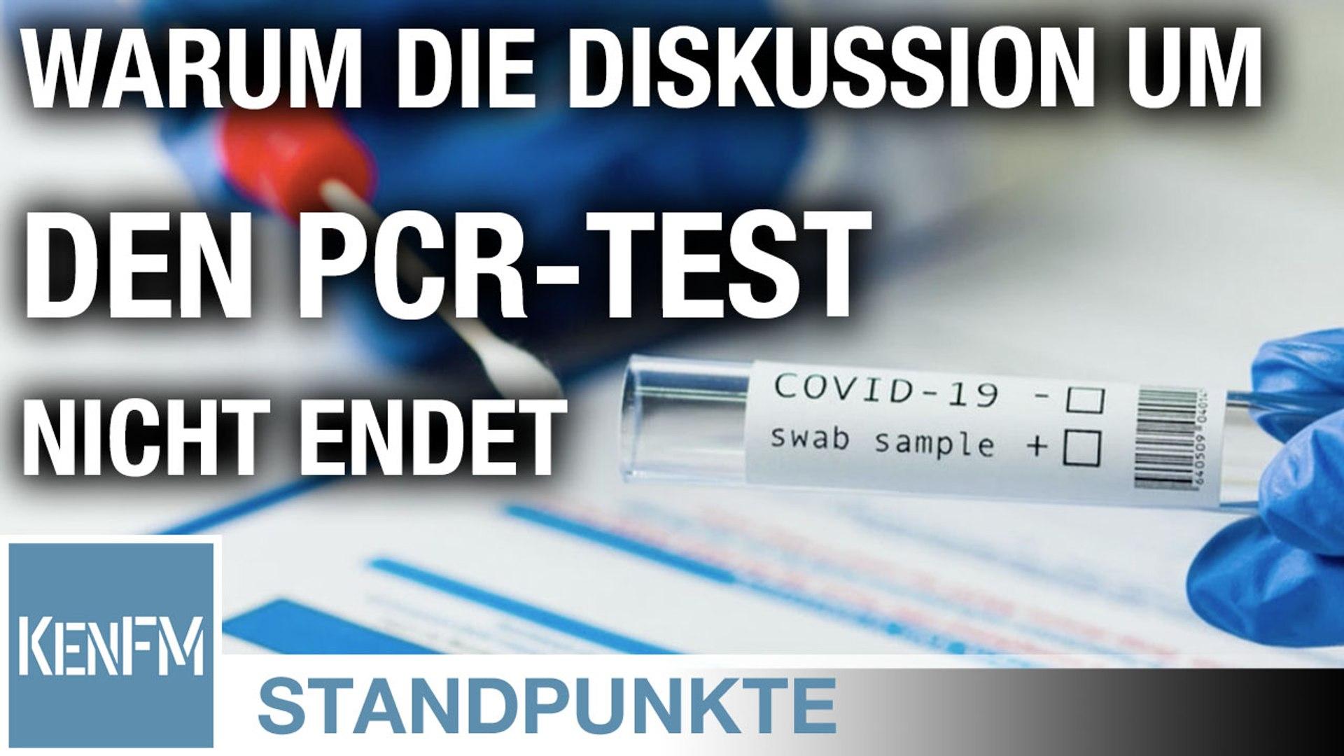 Warum die Diskussion um den PCR-Test nicht endet • STANDPUNKTE