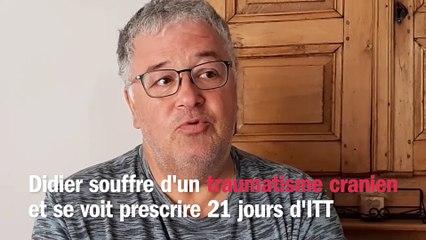 """Violences policières : """"Les policiers ont chargé sans raison valable"""", raconte Didier, blessé lors d'une manifestation à Lens"""