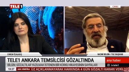 Gazeteciler Cemiyeti Başkanı Nazmi Bilgin: 2 gazetecinin gözaltına alınması gerçeklerden korkunun göstergesidir