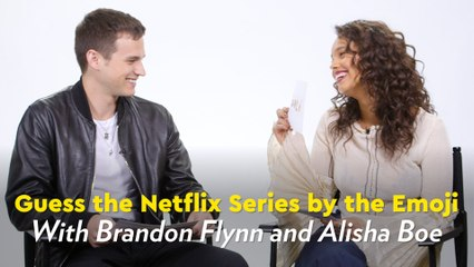 Play Along With 13 Reasons Why Cast Members as They Guess the Netflix Series by the Emoji