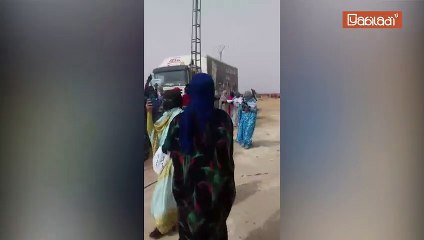 """احتجاجات في  مخيمات تندوف بعد إدانة رجل سبعيني من قبل """"محكمة عسكرية"""""""