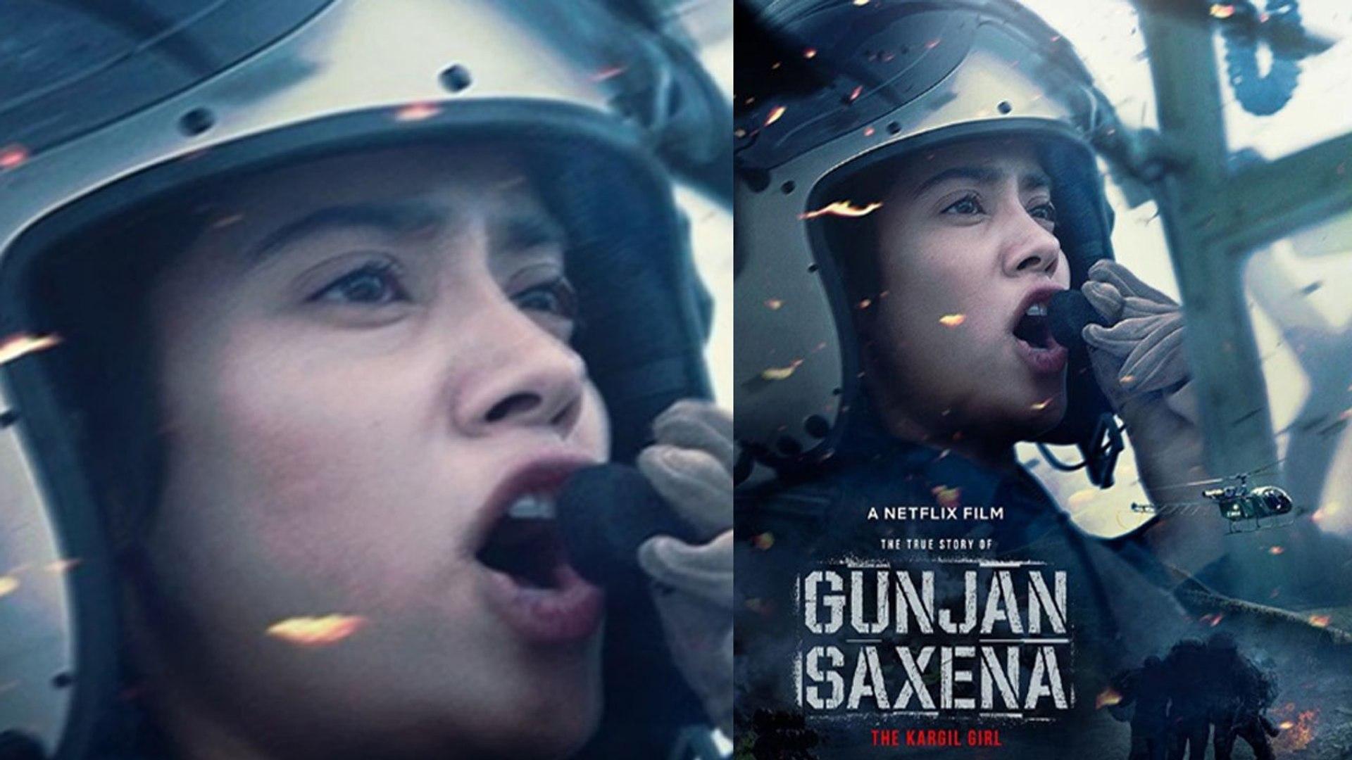 Jhanvi Kapoor S Gunjan Saxena The Kargil Girl To Release On Netflix Check Out Filmibeat Video Dailymotion
