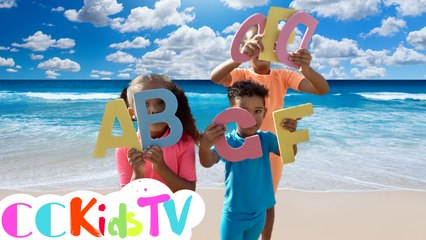 Alphabet Beach Song | UK ZED | ABC Phonics Song | Fun Alphabet Song For Kids