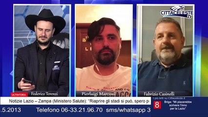 """Fabrizio Casinelli a CITTACELESTE TV: """"Ecco cosa penso dell'algoritmo"""" - VIDEO"""
