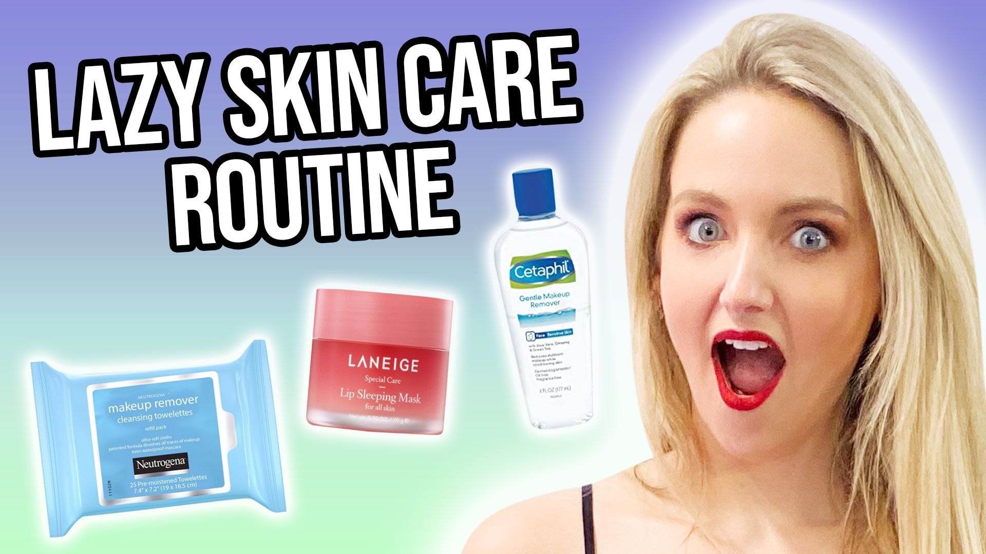 A Lazy Night Skincare Routine That WORKS!