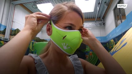 A protective face mask for water?