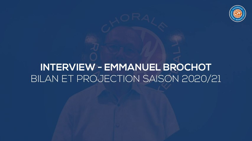 2020/21 Interview - Emmanuel Brochot