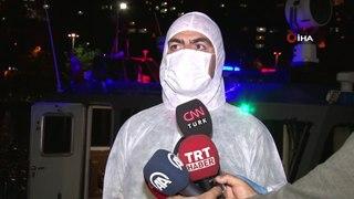 Istanbul'da deniz polisi ve il tarim mudurlugu k