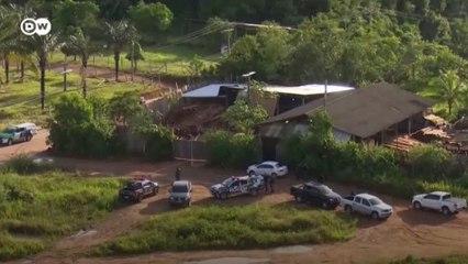 Operação desmantela organização de extração ilegal de madeira da Amazônia