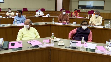 GUJARAT MINISTERS CABINET MEETING CHAIRED BY VIJAY RUPANI