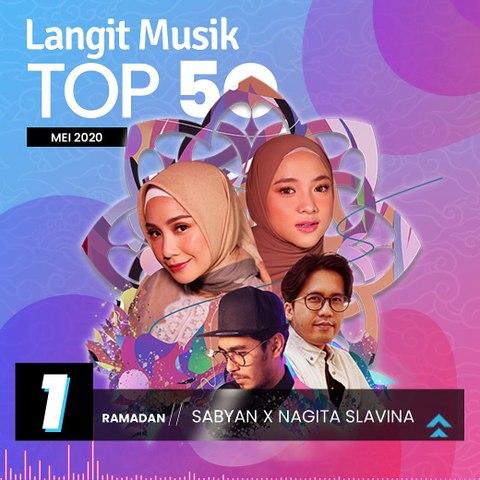 No 1 Langit Musik Top 50 Mei 2020