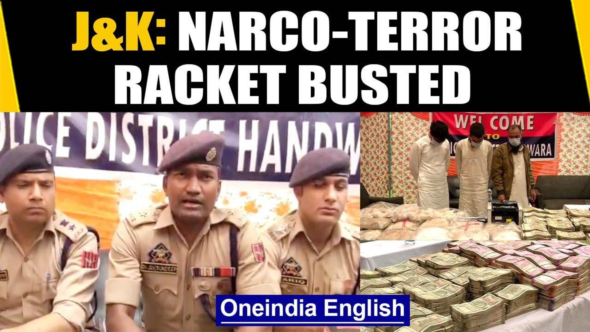 Kashmir narco-terror plot busted, 21 kg drugs recovered: Watch| Oneindia News