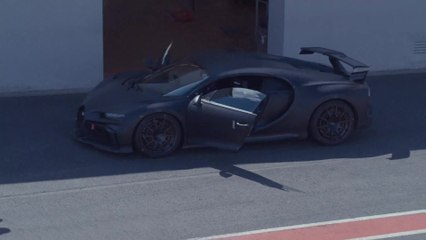 La Bugatti Chiron Pur Sport continue sa tournée à travers l'Europe