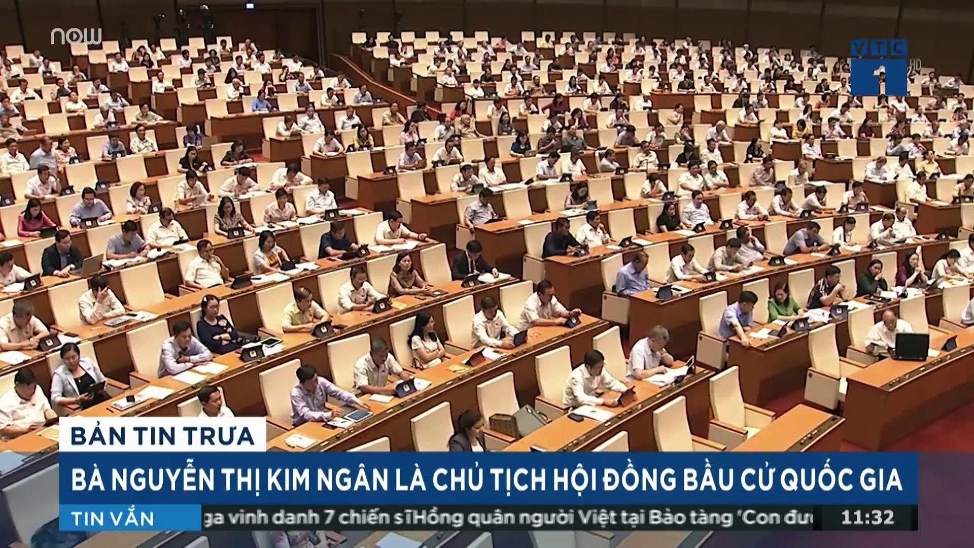 Bà Nguyễn Thị Kim Ngân giữ chức Chủ tịch Hội đồng bầu cử quốc gia