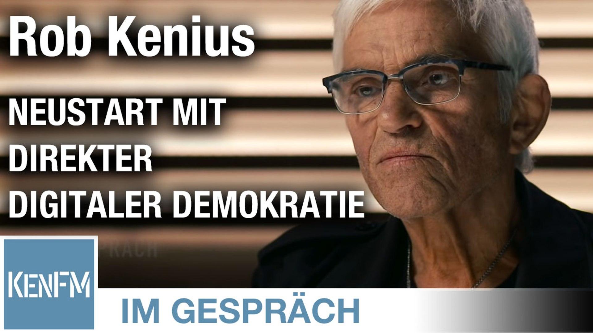 """Im Gespräch: Rob Kenius (""""Neustart mit Direkter Digitaler Demokratie"""")"""