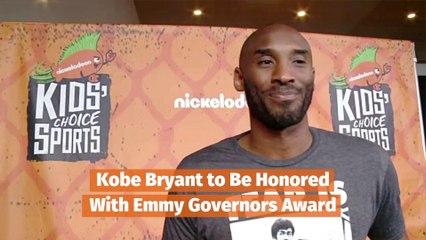 Kobe Bryant's Next Award