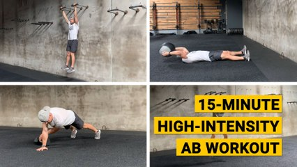 15-Minute High-Intensity Ab Workout