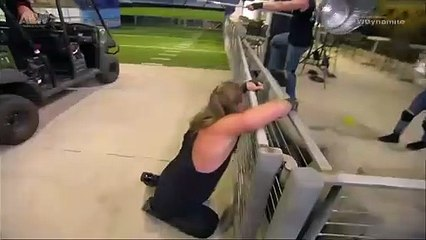 Chris Jericho & Sammy Guevara VS Matt Hardy & Kenny Omega In A Wild Street Fight