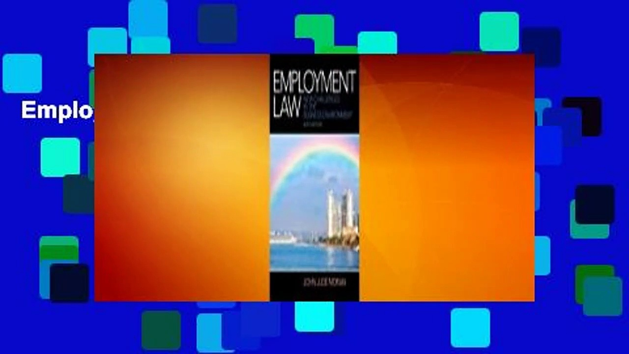 Employment Law  [FULL]