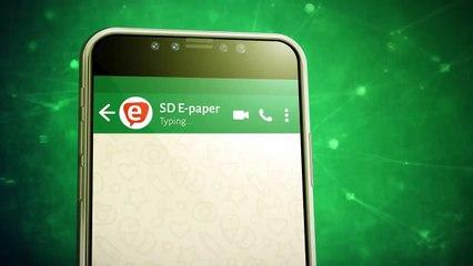 E-paper WhatsApp TVC Digital