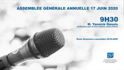 AQRP-AGA_2e partie FINANCES Yannick Genois_9h30