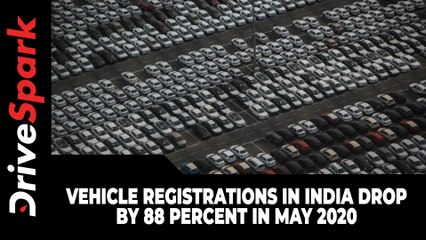 Vehicle Registrations In India Drop By 88 Percent In May 2020: Here's Why!