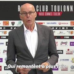 """""""Un club phare en Europe et dans le monde"""". Le RCT dévoile ses ambitions pour la prochaine saison"""
