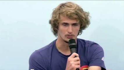 US Open - Alexander Zverev talks about the conditions of the US Open