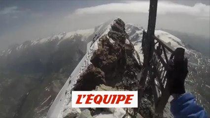 Kilian Jornet rend hommage à Pau Donès au sommet du mont Cervin - Tous sports - Ultra Trail