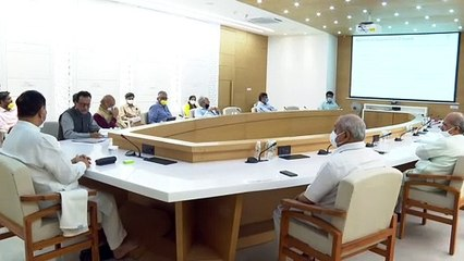 ECONOMIC REVIVAL MEASURES BY FINANCE SECRETARY TO VIJAY RUPANI AND MINISTERS IN COVID-19 CRISIS