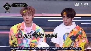[SUB.ESPAÑOL] 200612 Mnet 'Road to Kingdom' EP7 (Parte 2/2)