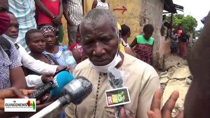 Evacuation des zones crtiques à Conakry: le ministre de la Ville lance les opérations de déguerpissement  à Dabondy
