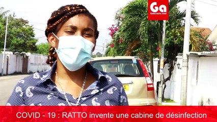 Cabine de désinfection Stéphanie Made in Gabon