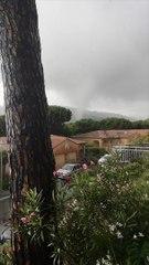 Vidéo accélérée d'une tornade à Sainte-Maxime