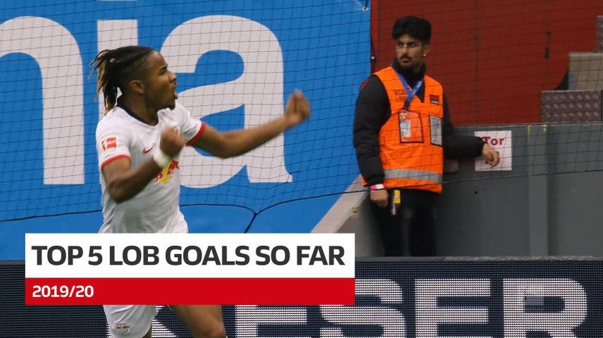 Top 5 Lob Goals 2019/20 so far