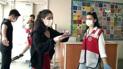 Korona virüs tedbirleri kapsamında ilk sınav