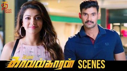 Ivankavalkaran Tamil Movie Scenes | Who stole Vijay's wallet? | Kajal Aggarwal | Thamizh Padam