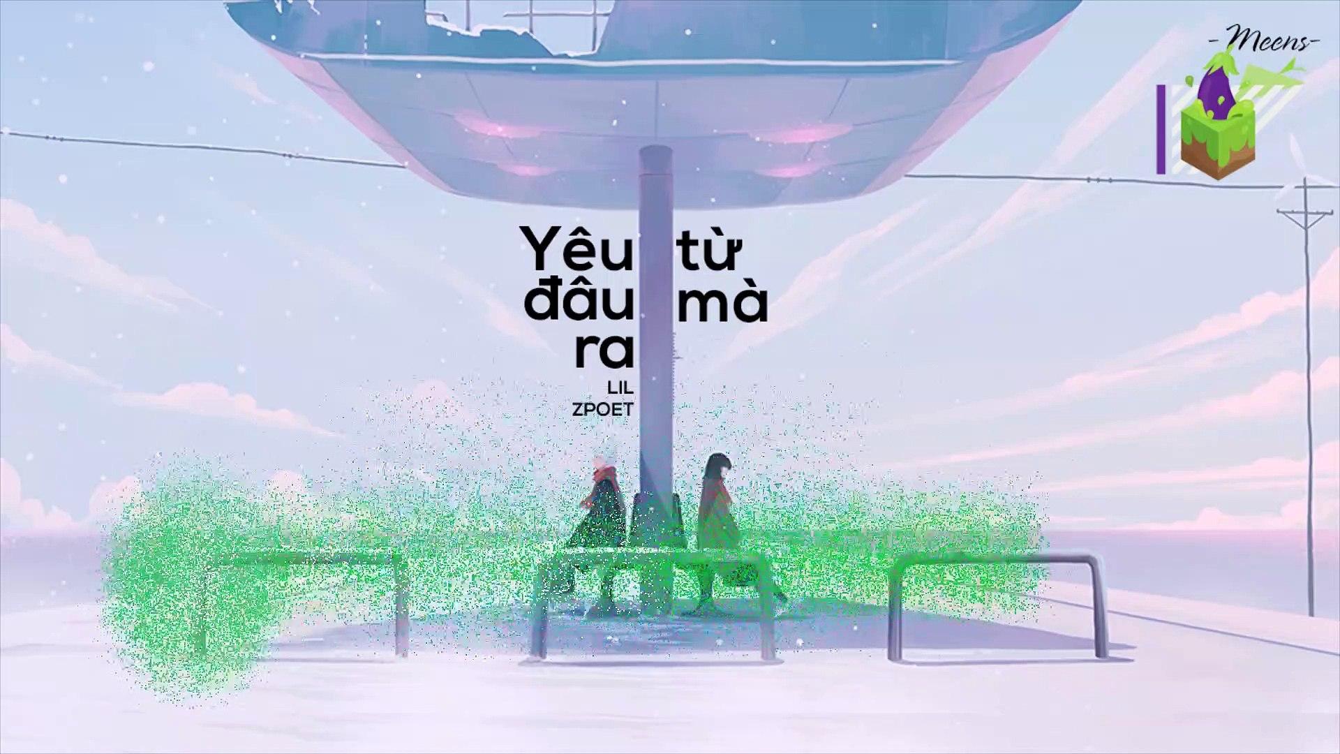 [Karaoke] Yêu Từ Đâu Mà Ra -  Lil Zpoet [Beat]