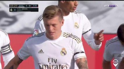 Real Madrid 1-0 Eibar: Gol de Kroos