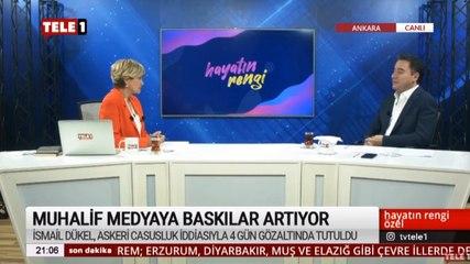 DEVA Partisi Genel Bşk. Ali Babacan: Yargı süreci devam eden bir gazetecinin tutuklu olmasa dahi özgürce kendini ifade etmesi çok zor!