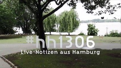 HAMBURG:  Demo, Proteste ( 13.06.2020)