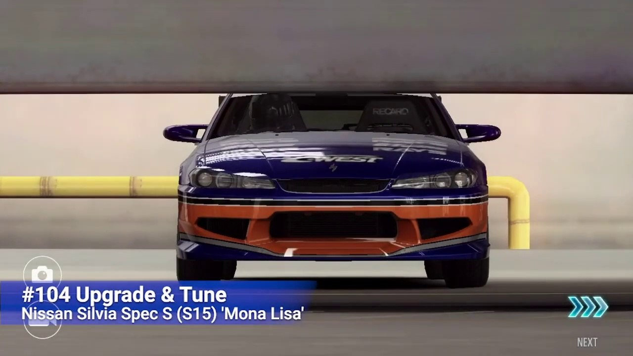104 Csr Racing 2 Fast Furious Upgrade And Tune Nissan Silvia Spec S S15 Mona Lisa Video Dailymotion