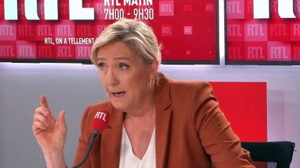 Marine Le Pen - RTL lundi 15 juin 2020