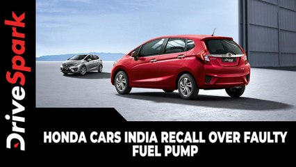 Honda Cars India Recall Over Faulty Fuel Pump | Here Are The Details