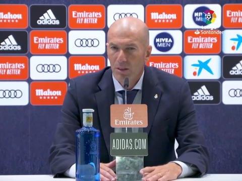 """28e j. - Zidane : """"Tellement contents de retrouver le terrain"""""""