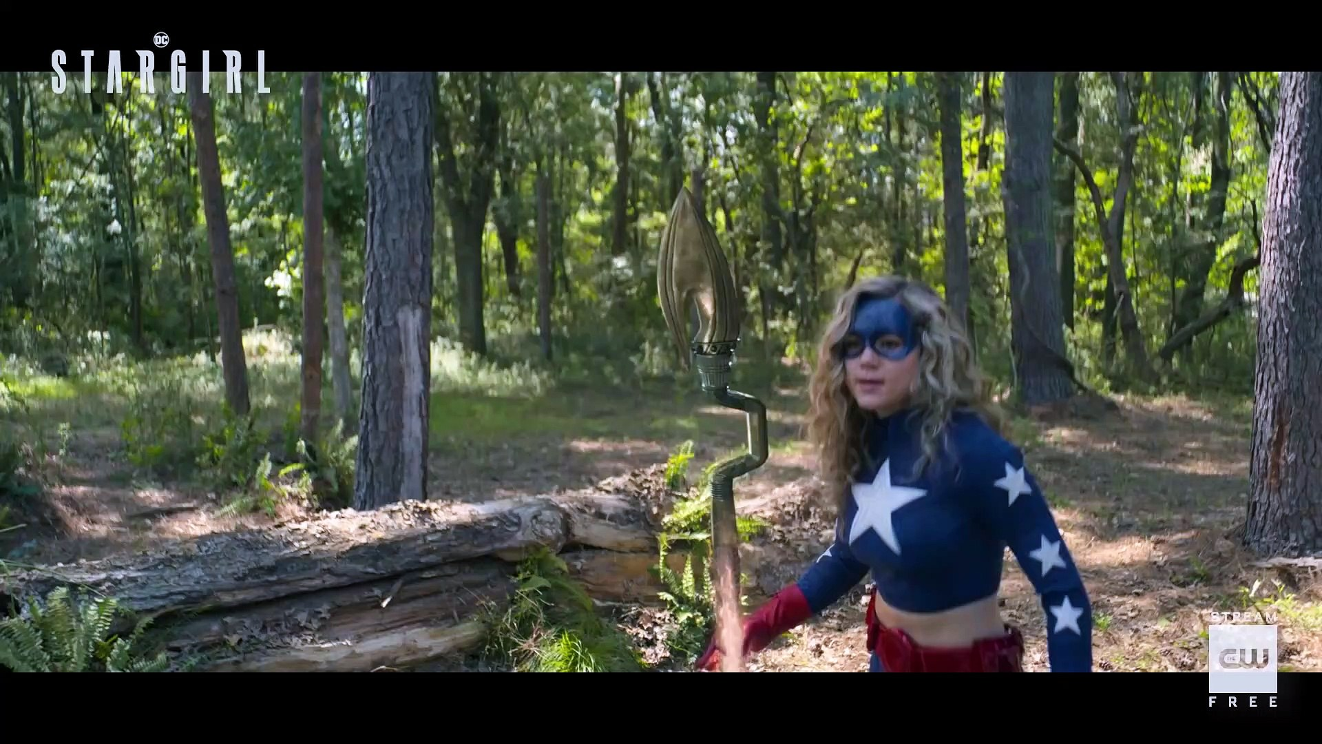 DC's Stargirl - Brec Bassinger Interview (2020) Superhero series