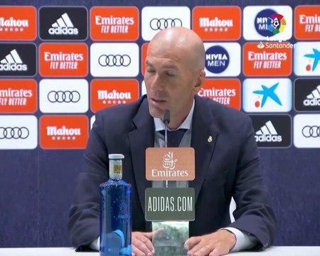 """28e j. - Zidane : """"La complémentarité entre Hazard et Benzema ? C'est un régal"""""""