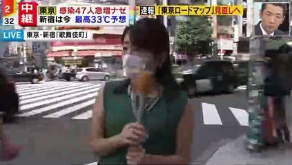 【ミヤネ屋】歌舞伎町中継中に男性が乱入
