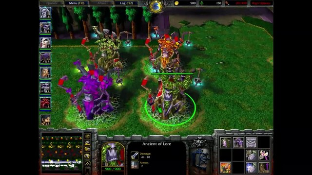 WC3 Classic 1.26: Attack of the Multiverse V0.09 - From Dusk til Dawn of the Night Elves