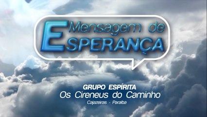MENSAGEM DE ESPERANÇA 05/06/2020